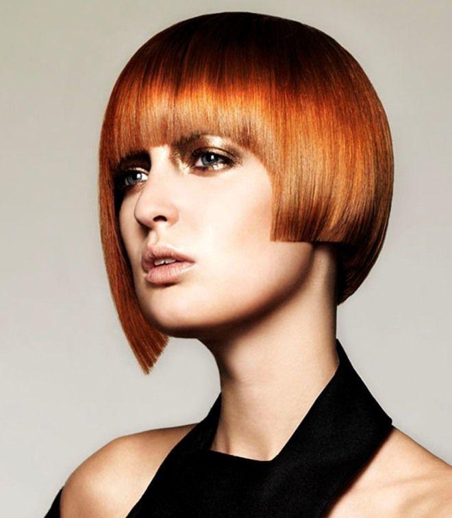 стрижки на короткие волосы для женщин за 30: асимметричные