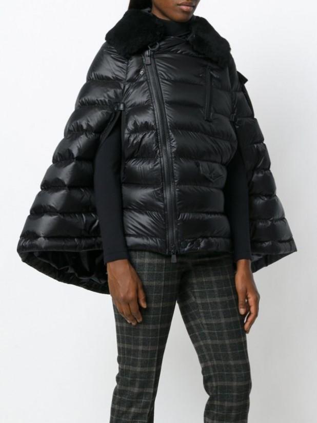 Модные женские пуховики зима 2019-2020: с расклешенным низом