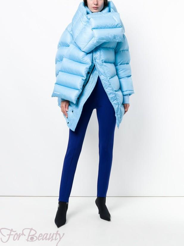 Модные фасоны женских пуховиков зима 2017 фото