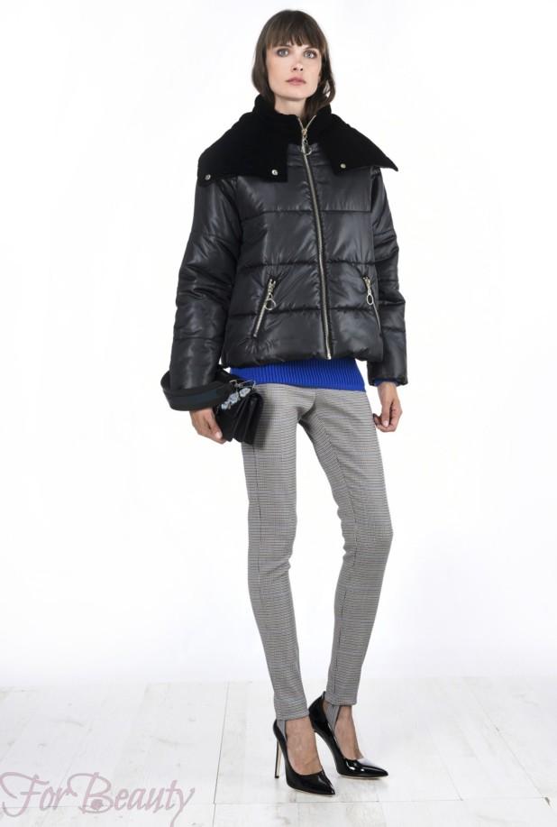 Модные тенденции и фасоны женских пуховиков зима 2017 фото