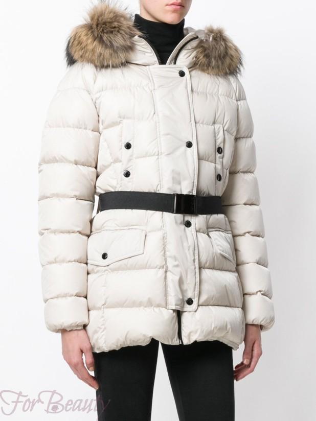 Модные пуховики белого цвета зима 2017