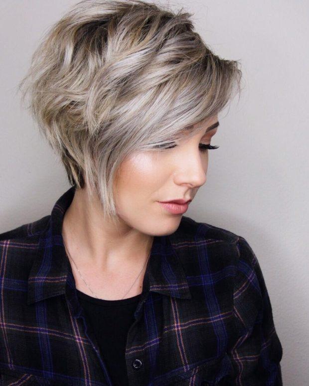 стрижки на короткие волосы 2020 2021 женские фото после 40 лет красивые