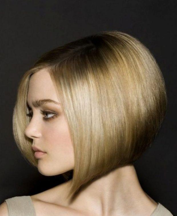 стрижка«боб-каре»на короткие волосы для женщин за 40