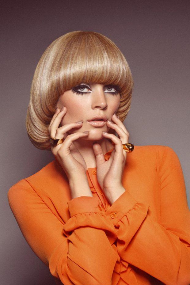 стрижка«сессон» на короткие волосы для женщин за 40