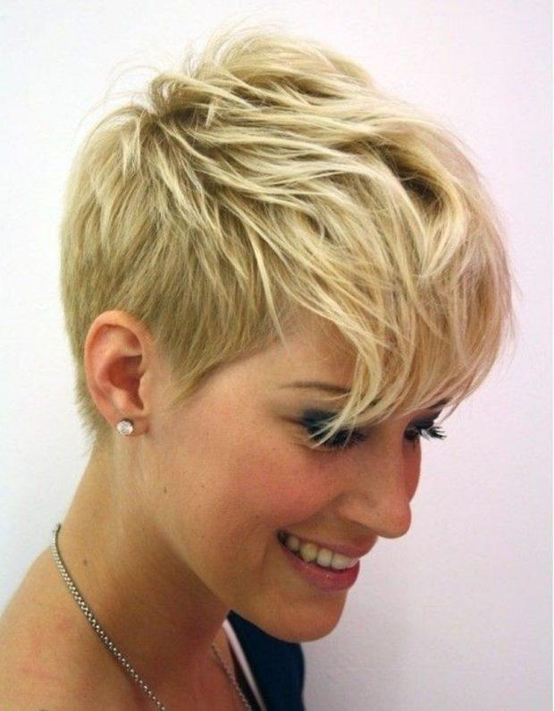 стрижка пиксина короткие волосы для женщин за 40