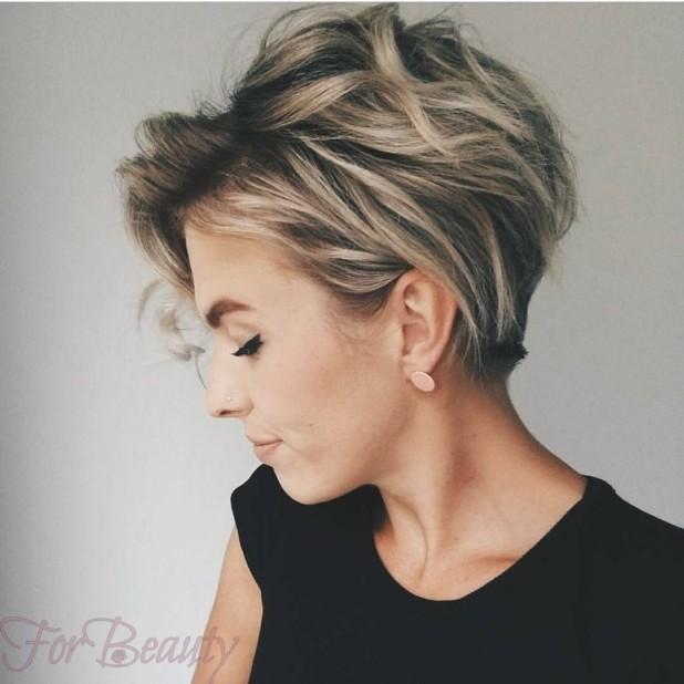 Модные стрижки 2018 на короткие волосы фото для женщин за 40