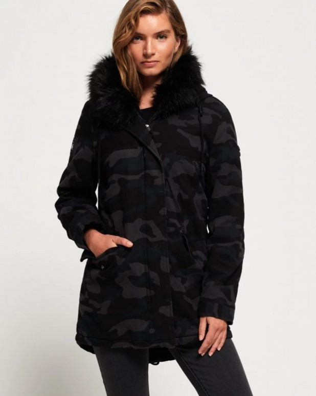 женские куртки осень зима: милитари