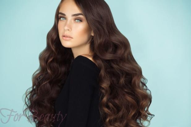 Модный цвет волос для шатенок 2018