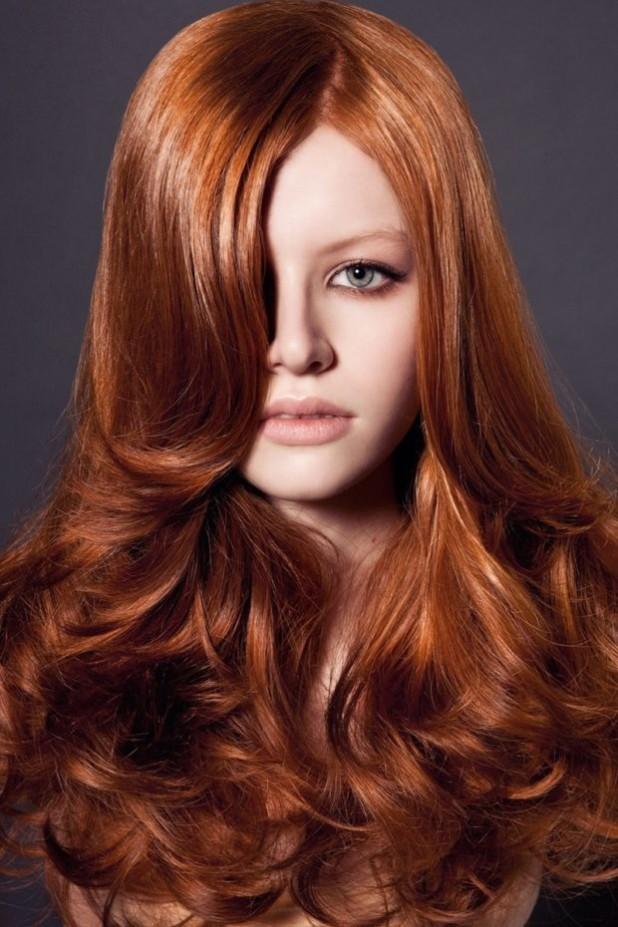 Модный цвет волос: для рыжих