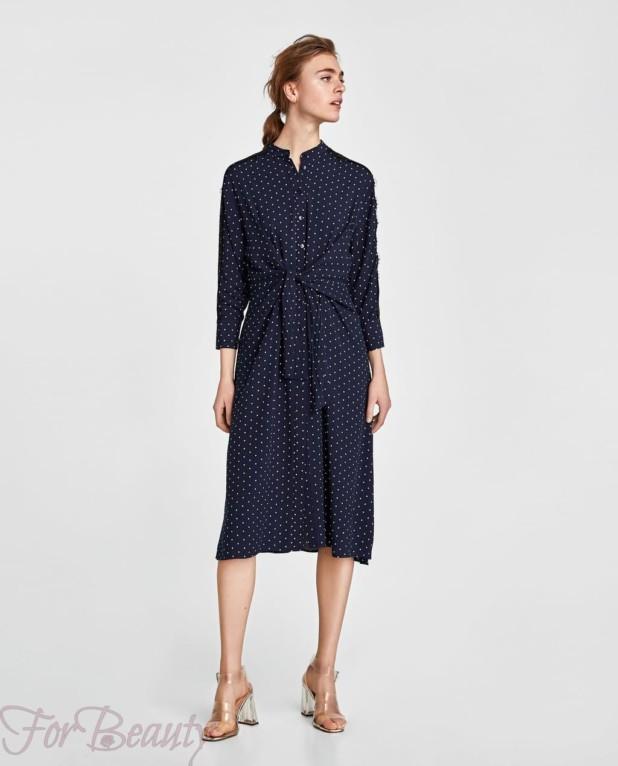 длинное платье-рубашка женская 2018 2019