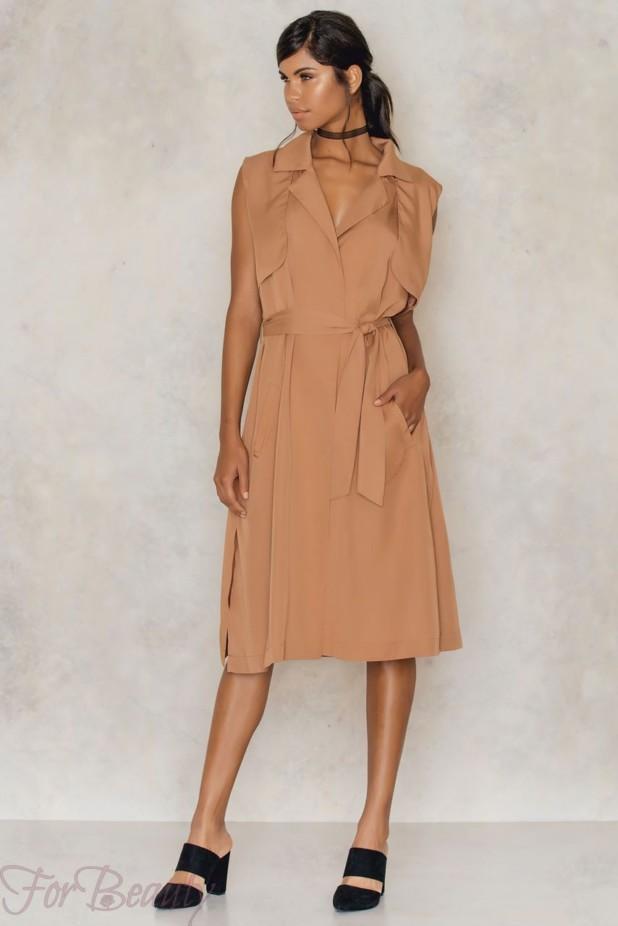 Платье-рубашка 2018 2019 фото новинки без рукавов