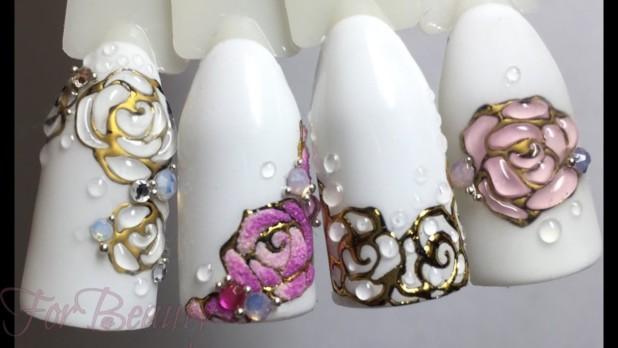 3D рисунок на ногтях 2018 года
