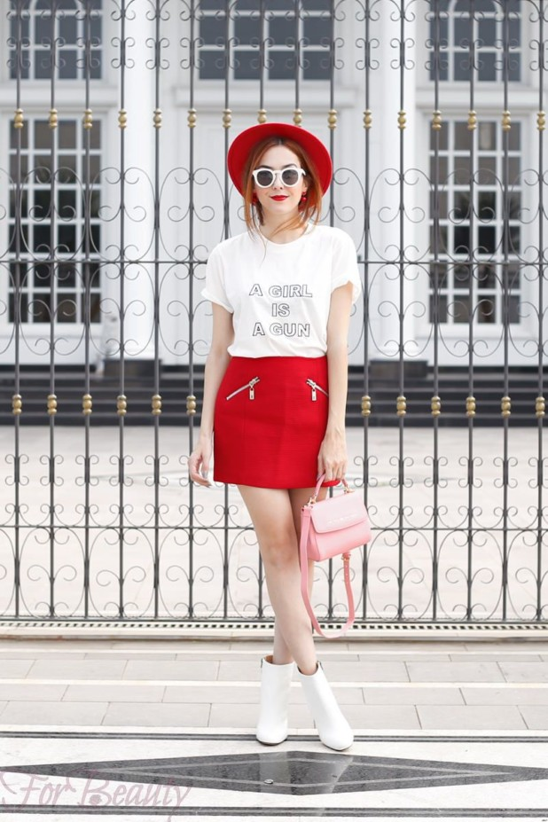 С чем можно носить белые ботильоны летом 2017