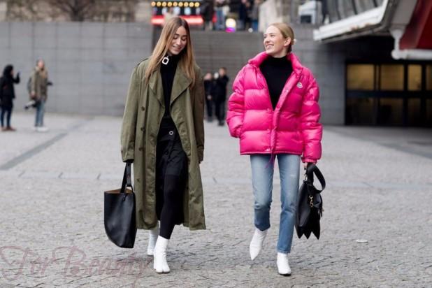 С чем можно носить белые сапоги