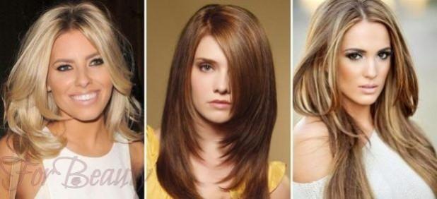 Стрижки 2018 модные тенденции фото на длинные волосы