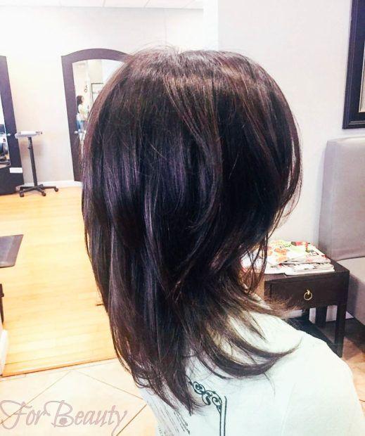 стрижка «Каскад» на средние волосы 2018 2019 года