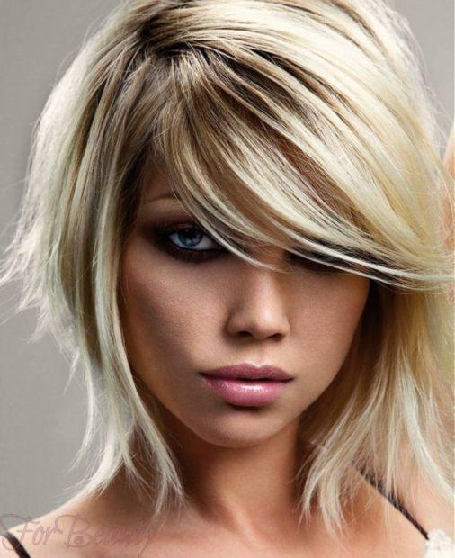красивая прическа Каскад на короткие волосы 2018 2019 фото новинки