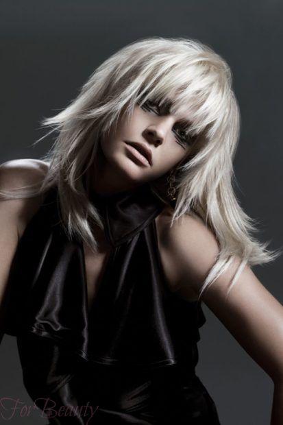 стильная Прическа Каскад на длинные волосы 2020 2021 фото новинки