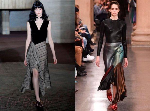 Юбки стильные 2018 года модные тенденции