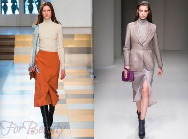 Модные юбки-карандаш 2018 года модные тенденции