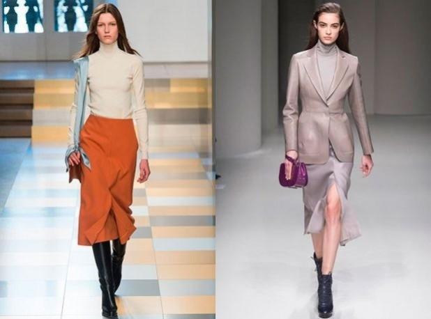 Модные юбки-карандаш 2018 2019 года