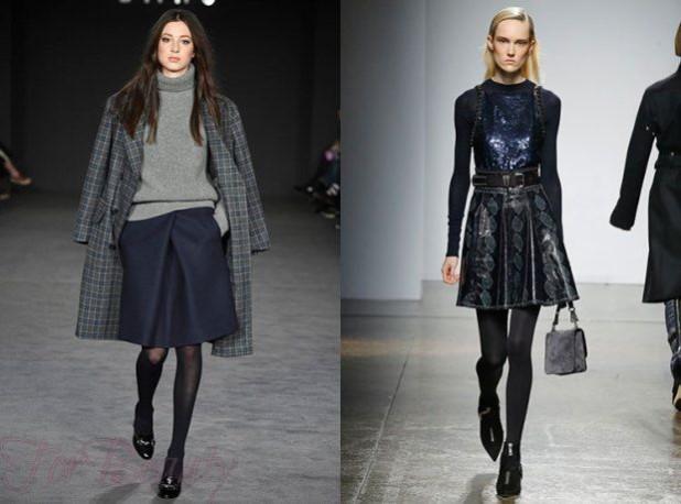 Модные юбки 2018 2019 года: классические