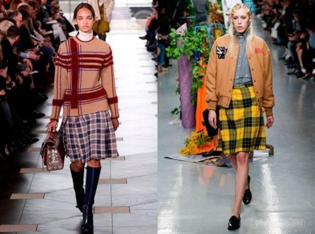 Модные юбки в стиле преппи 2018 2019 года тенденции