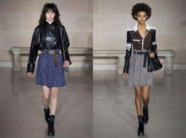 Модный практичный материал для юбок 2018