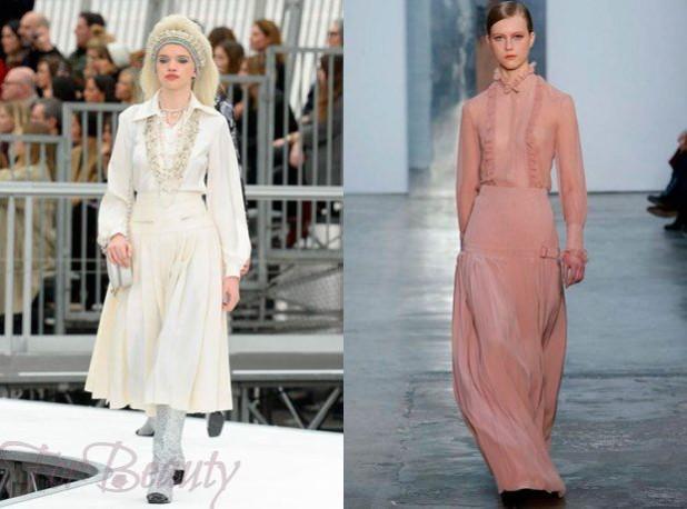 Длинные летние юбки 2018 года модные тенденции