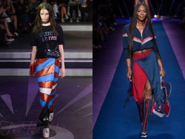 Модные яркие юбки с запахом 2018 года модные тенденции