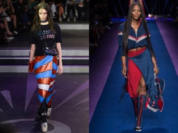 Модные яркие юбки с запахом 2018 2019 года