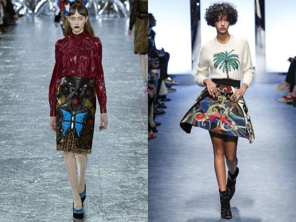 Модные юбки с вышивкой 2018 года модные тенденции