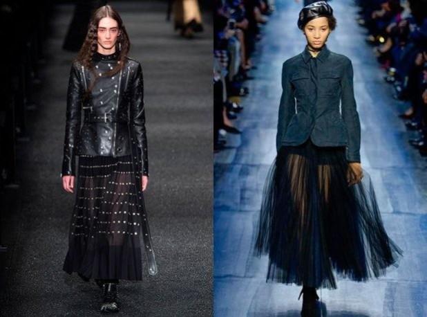 Юбки 2018 2019 года модные тенденции: черные