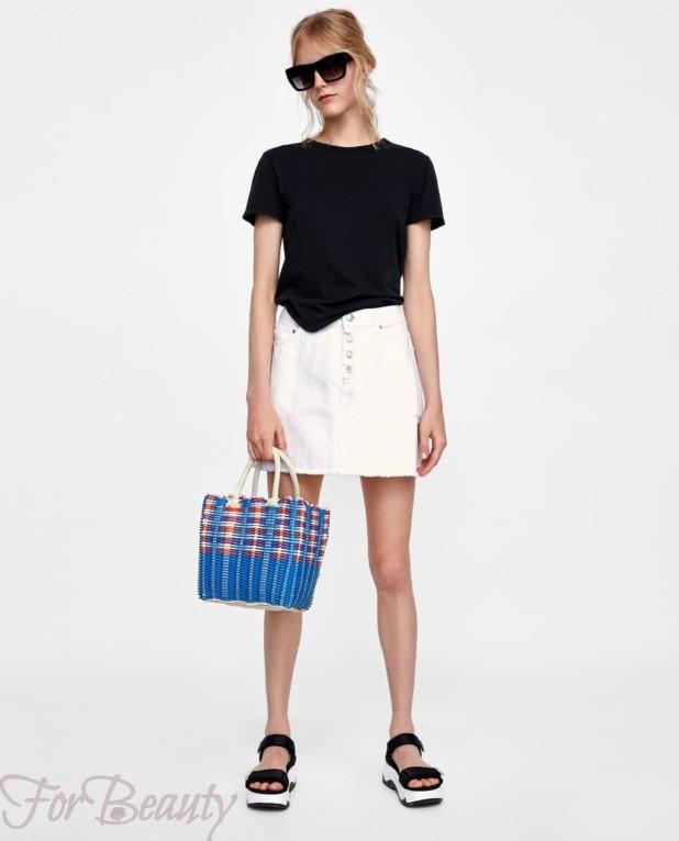 белая юбка 2018 года