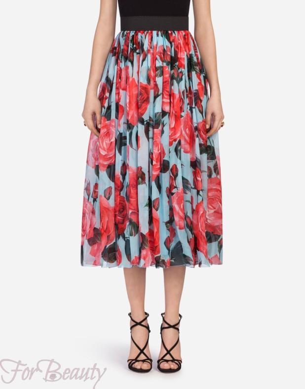 Модная юбка 2018