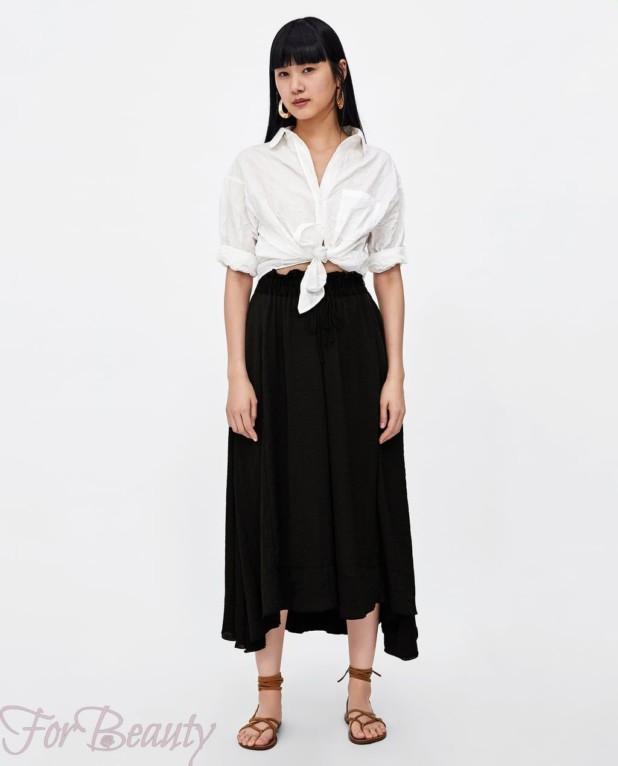 черная юбка 2018 года