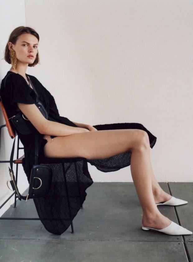 Мода 2019-2020 года в женской одежде: черное платье