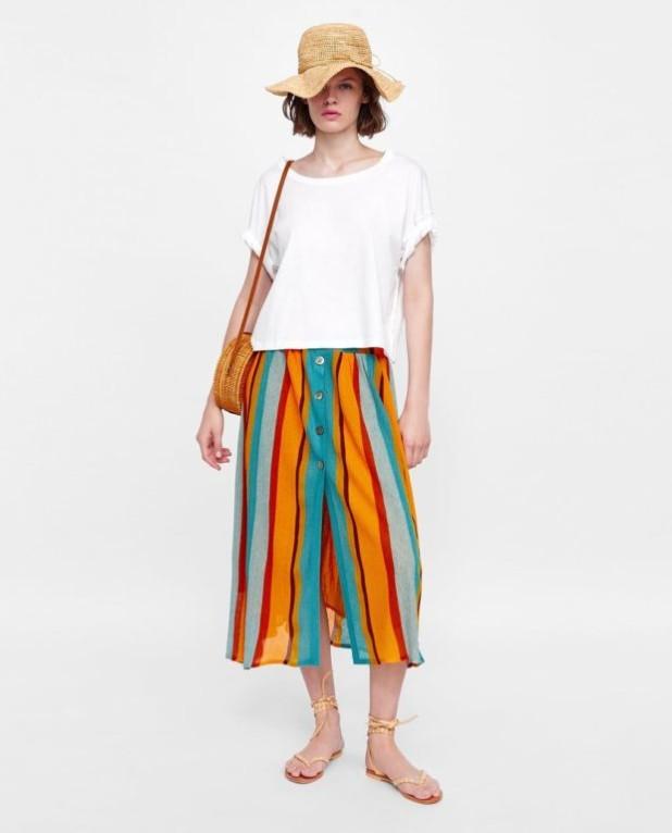 Мода 2019-2020 года в женской одежде: белая футболка и шорты