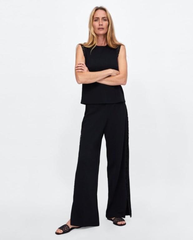Мода года в женской одежде: черный жакет без рукавов