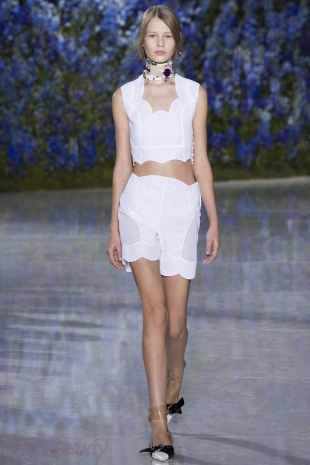 Модные тенденции в моде весна-лето 2018