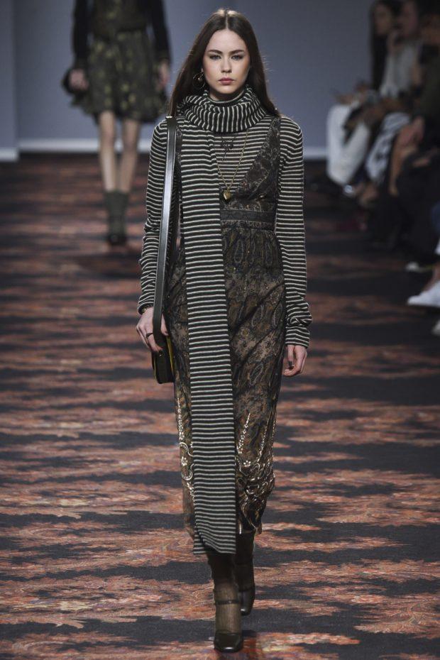 мода в одежде: осенний лук