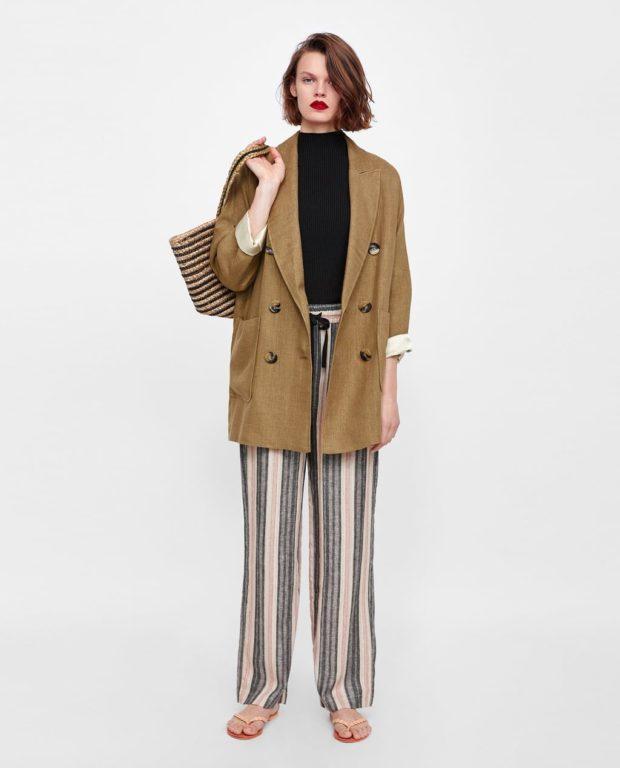 Мода 2019-2020 года в женской одежде: пиджак и брюки