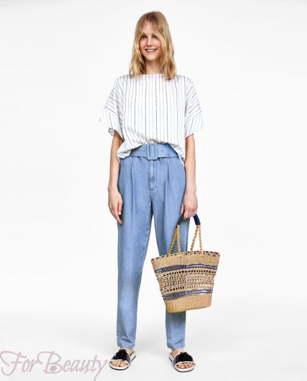 модная белая блузка 2018