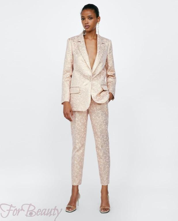 модные розовые женские брюки 2018