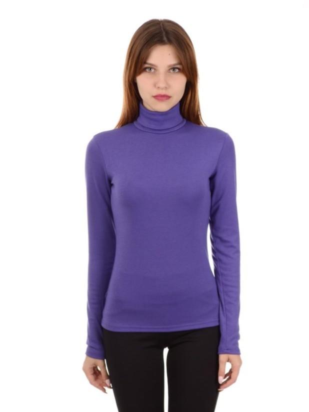 фиолетовая водолазка