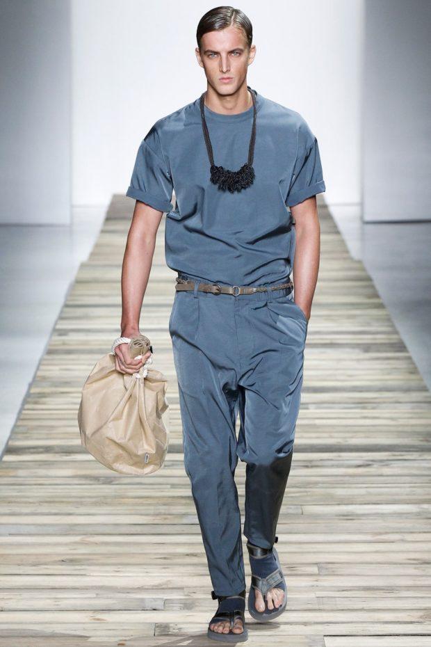 Тенденции мужской моды 2020 весна лето