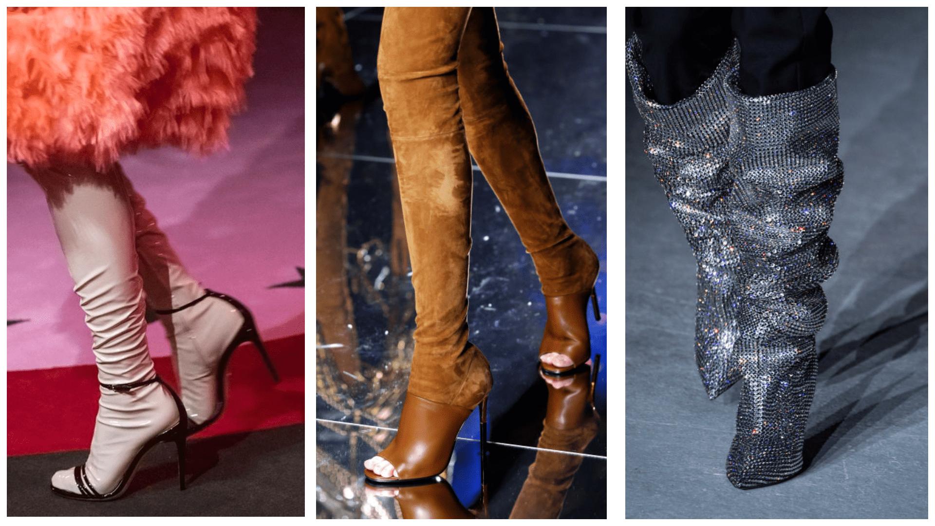 Модные сапоги этой осенью 2017-2018